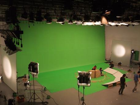 <p>クロマキーデジタルグリーン 15mx10m</p>